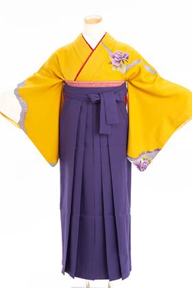 卒業式 袴 紫色 緑