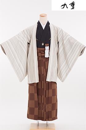 卒業式 小学生 袴 茶