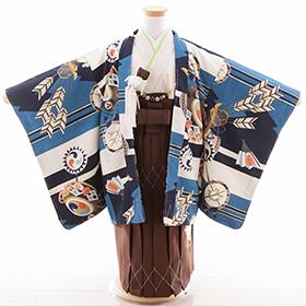 七五三 袴 青