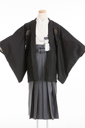 卒業式 小学生 袴 黒