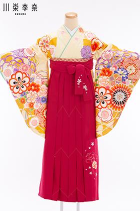 卒業式 袴 黄色 ピンク