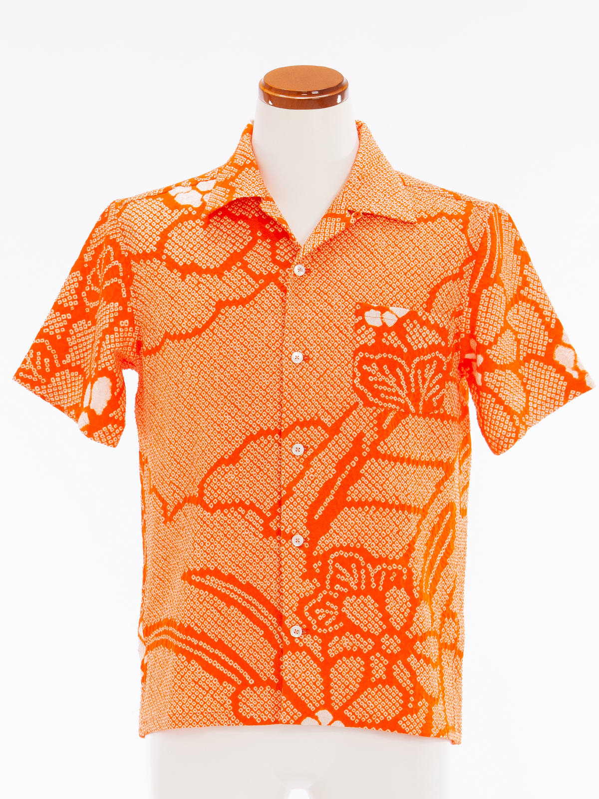 着物アロハシャツ「爽快な絞り」AH100049