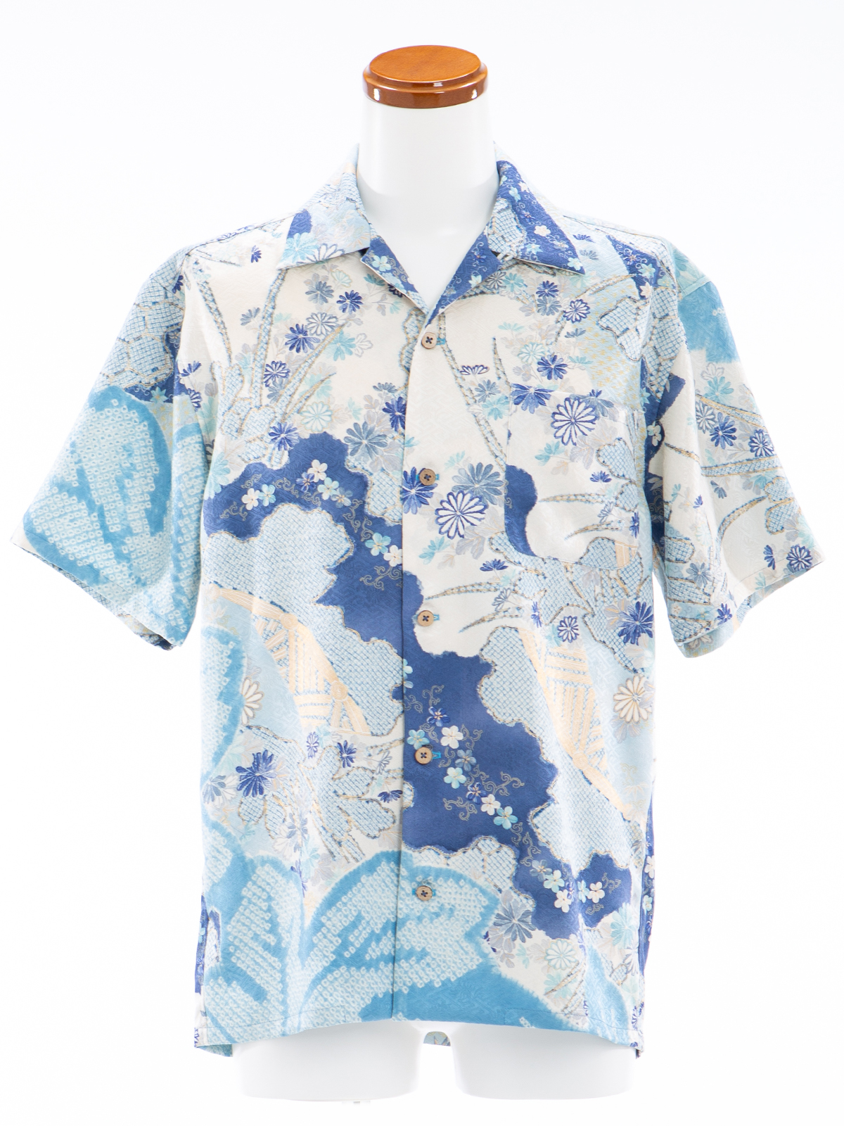 着物アロハ「夏の青空」AH100057