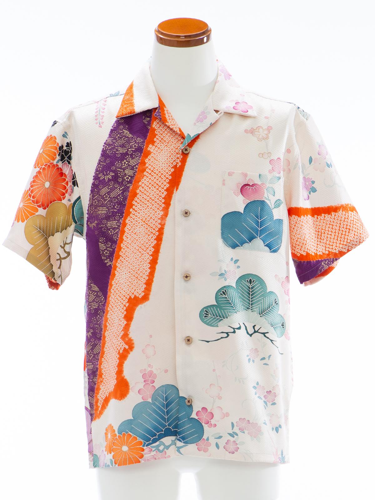 着物アロハシャツ「四季を纏って」AH100078